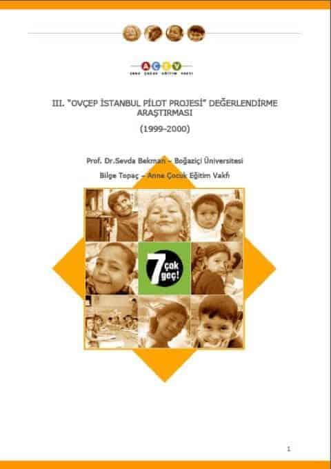 OVÇEP İstanbul Pilot Projesi Değerlendirme Araştırması