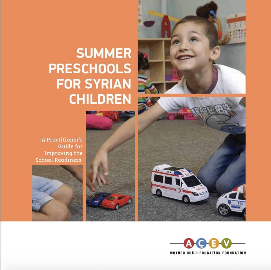 Summer Preschools for Syrian Children: A Practitioner's Guide for School Readiness